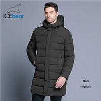 Зимняя удлиненная мужская куртка  . Арт.01477, фото 1