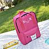 Большой тканевый рюкзак сумка  с рисунком котика, фото 4
