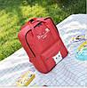Большой тканевый рюкзак сумка  с рисунком котика, фото 3