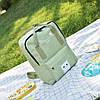 Большой тканевый рюкзак сумка  с рисунком котика, фото 2