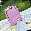 Большой тканевый рюкзак сумка  с рисунком котика, фото 6