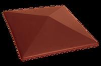 Клинкерная крышка на забор KingKlinker Нота цинамона (06) 310х445х90
