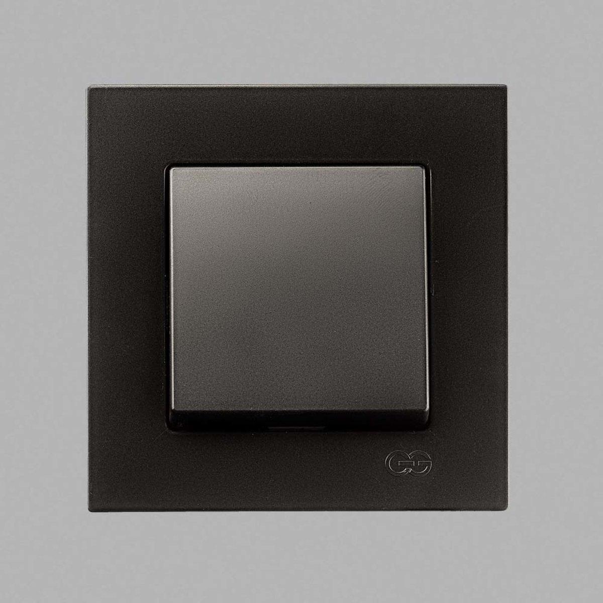 Eqona Выкл. 1-клав. черный