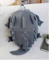 Большой оригинальный рюкзак ящерица/дракон Унисекс, фото 2