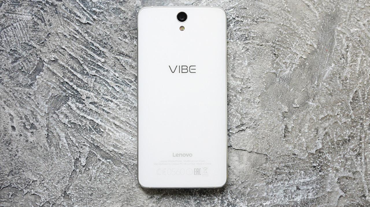 Задняя крышка Lenovo S1 Vibe (S1a40), белая, Pearl White, Оригинал