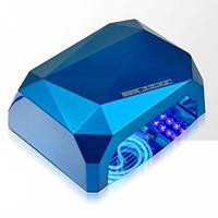 Ультрафиолетовая гибридная лампа Diamond CCFL+LED  36W, синяя