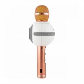 Беспроводной Bluetooth микрофон для караоке Wster WS-878, золотой