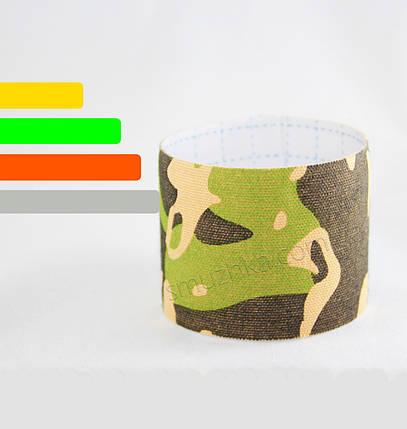 Тейп для фиксации сенсора Фристайл Либре зеленый-хаки, фото 2