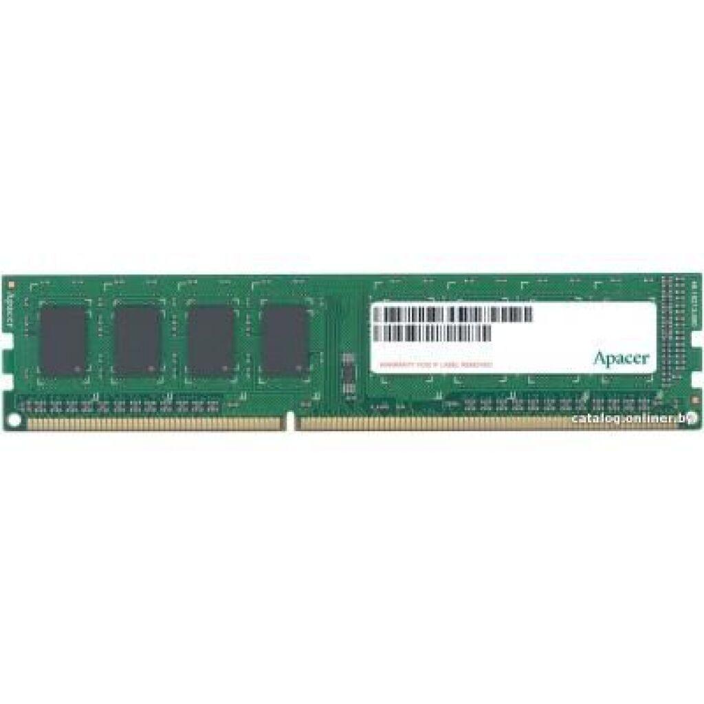 Модуль памяти для компьютера DDR3 8GB 1600 MHz Apacer (AU08GFA60CATBGC)