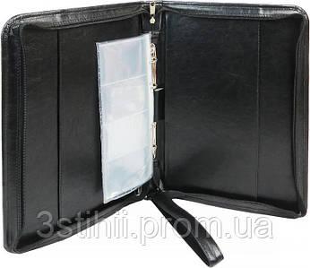Папка деловая для документов Exclusive 712100 Черная
