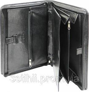 Папка-портфель деловая для документов Exclusive 711200 Черная