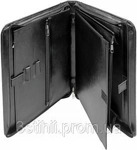 Папка-портфель для документов Exclusive 710200 Черная