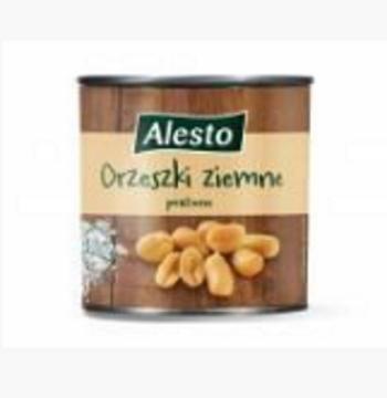 Орешки Alesto Orzwski ziemne соленые 150 г
