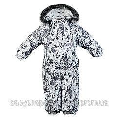 Детский зимний термокомбинезон REGGIE 1 HUPPA, REGGIE 1 36020130-83148, 12 мес (80 см), 12 мес (80 см)
