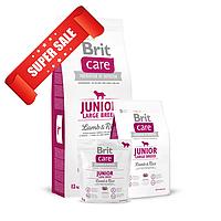 Сухой корм для собак Brit Care Junior Large Breed Lamb & Rice 1 кг