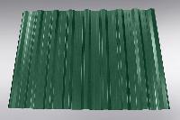 Профнастил универсальный НС-20 (кровля) с глянцевым полимерным покрытием 0,5 мм зелёный