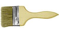 Кисть флейцевая деревянная 14 мм х 100 мм