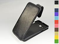 Откидной чехол из натуральной кожи для Samsung Galaxy A5 2015 A500H