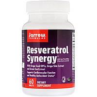 Ресвератрол, Resveratrol Synergy, Jarrow Formulas, 60 табл.