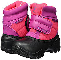 Ботинки зимние для девочки Columbia Kids Rope Tow Kruser сапоги непромокаемые, фото 1