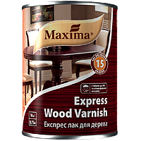 Экспресс лак для дерева глянцевый бесцветный, Maxima, 0.75 л, в Днепре