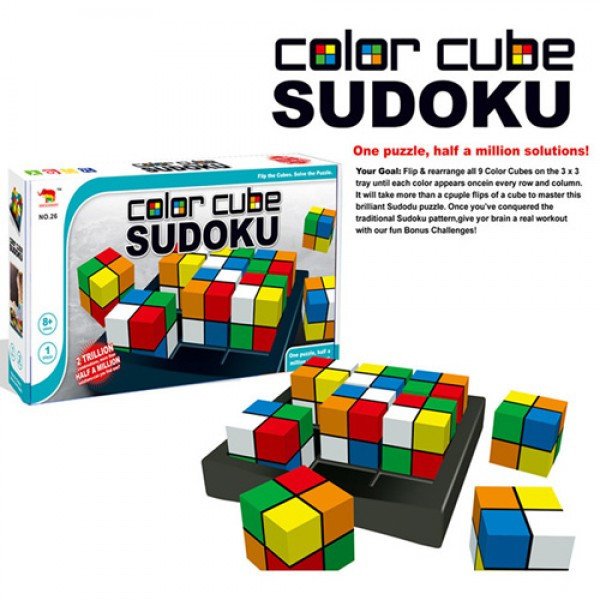 Игра-головоломка Color Cube Sudoku