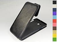 Откидной чехол из натуральной кожи для Samsung Galaxy A7 2015 A700H