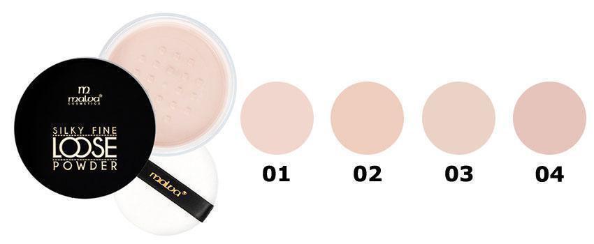 Рассыпчатая пудра для лица Malva Cosmetics Silky Fine Loose Powder PM-2503