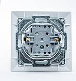 Кнопка контроля освещения  GUNSAN Neoline Белая, фото 2
