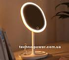 Зеркало косметическое настольное Joyroom Beauty Series JR-CY268 с  LED подсветкой. Зеркало для макияжа, фото 2