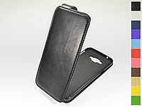 Откидной чехол из натуральной кожи для Samsung A800F Galaxy A8