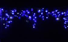 Уличная светодиодная гирлянда бахрома Lumion Icicle Light  90 led  наружная синий с мерцанием