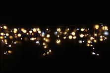 Уличная светодиодная гирлянда бахрома Lumion Icicle Light  90 led  наружная бел.теп. с мерцанием