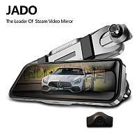 Видеорегистратор JADO D820s — универсальное зеркало с двумя камерами и парковочным ассистентом