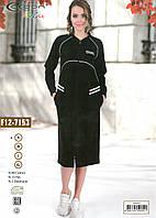 Жіночий халат Cocoon F12-7153 чорний