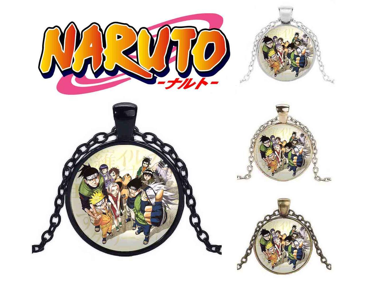 Кулон команда Наруто / Naruto