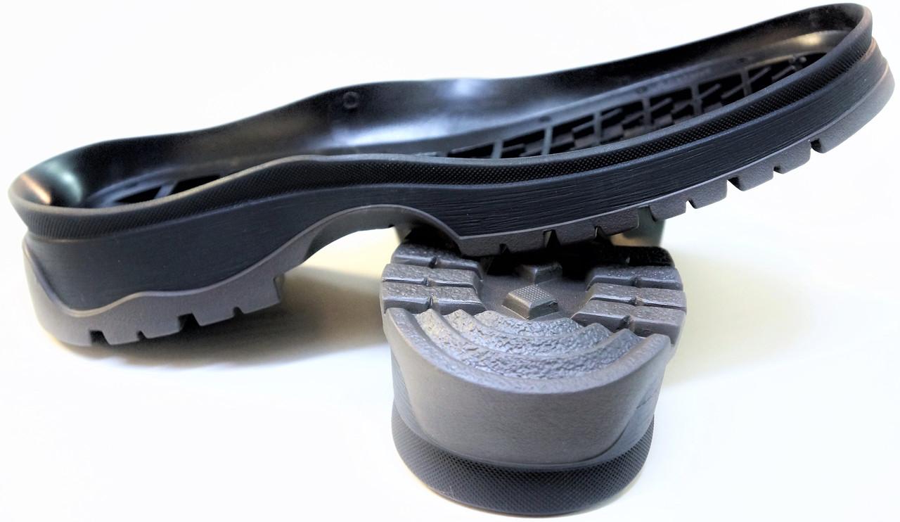 Подошва для обуви женская Астра-14(черно-серая) р.36-41