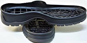 Подошва для обуви женская Астра-14(черно-серая) р.36-41, фото 2