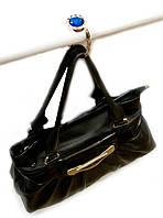 """Вешалка для женской сумочки со стразами """"кристалл"""""""