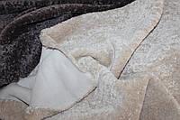 Искусственный мех мраморный, плотный тяжелый, №3010 цвет кремовый светлый, фото 1
