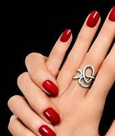 Стильное серебряное кольцо разъёмное регулируемое  крупное 925 проба