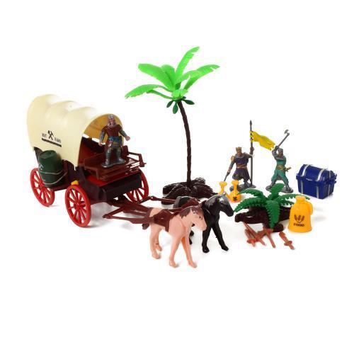 Игровой набор Пиратов 0806-1-2 транспорт фигурки аксессуары