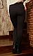Лосины брючные НА МЕХУ черные размер L,XL,52,54,56,58, фото 2