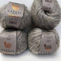 Gazzal Queen (Газзал Квін) (15 % - вовна, 15 % - металізована пряжа, 35 % - поліестер)  7208