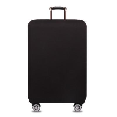 Защитный Чехол на Чемодан Большой L (25-28) Полиэстер Travelkin (TK-200) Черный
