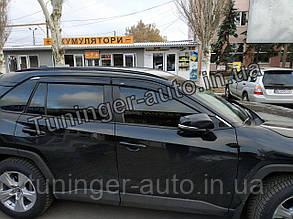 Ветровики, дефлекторы Toyota Rav 4 2019- (Hic)
