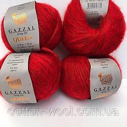 Gazzal Queen (Газзал Квін) (15 % - вовна, 15 % - металізована пряжа, 35 % - поліестер)  7212