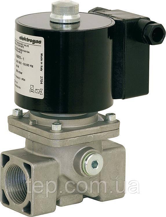 """Газовый клапан VMR2-5 3/4"""" - 3/4"""" 500mbar. Нормально закрытый. Быстро открывающийся. 220V 50Hz IP54 96мм"""