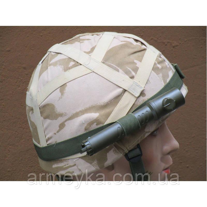 Налобное крепление фонаря Hadband personal combat torch (боковое крепление). Великобритания, оригинал.