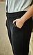 Брюки на байке Meleinys 36 размер 54 черные, фото 2